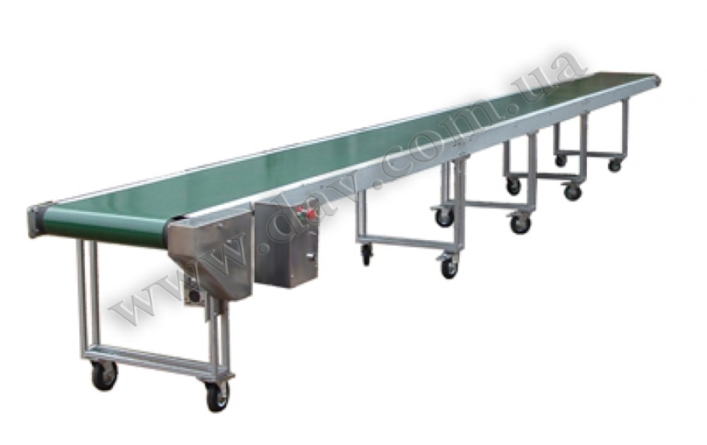 Стрічковій транспортер транспортер для погрузки зерна